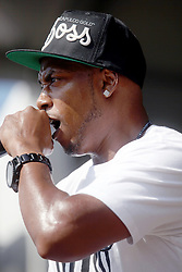 04 May 2012. New Orleans, Louisiana,  USA. .New Orleans Jazz and Heritage Festival. .Rap artist Mystikal, real name Michael Lawrence Tyler of New Orleans..Photo; Charlie Varley.