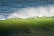 Wave spray, Santa Cruz, California