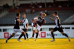during football match between NK Triglav Kranj and NK Rogaska in 3rd Round of 2. SNL 2021/22, on August 14, 2021 in Sports park, Kranj, Slovenia. Photo by Luka Vovk / Sportida
