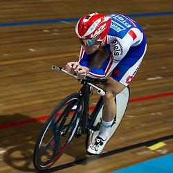 Steven Lammertink kwalificatie NK achtervolging Apeldoorn