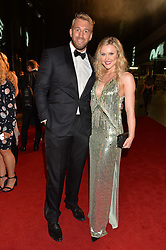 CHRIS ROBSHAW and CAMILLA KERSLAKE at the GQ Men of The Year Awards 2016 in association with Hugo Boss held at Tate Modern, London on 6th September 2016.