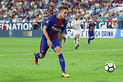 Barcelona Denis Suarez during the International Champions Cup match between Real Madrid and FC Barcelona at the Hard Rock Stadium, Miami on 29 July 2017.
