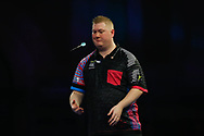 Just not Ricky Evans' day, during the Darts World Championship 2018 at Alexandra Palace, London, United Kingdom on 18 December 2018.