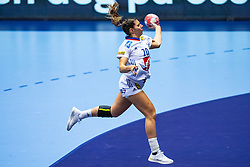 Laura Flippes of France in action during the Women's EHF Euro 2020 match between France and Russia at Jyske Bank BOXEN on december 11, 2020 in Kolding, Denmark (Photo by RHF Agency/Ronald Hoogendoorn)
