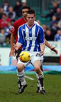 Photo: Alan Crowhurst.<br />Brighton & Hove Albion v Bristol City. Coca Cola League 1. 24/02/2007. Brighton's Joe Gatting.