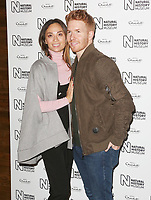 Katya Jones & Neil Jones, Natural History Museum Ice Rink - Launch Event, London UK, 25 October 2017, Photo by Brett D. Cove
