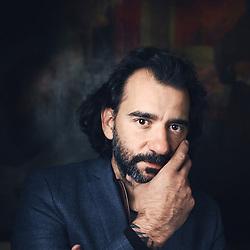 Paris, France. September 15, 2015. Director Pablo Trapero posing at the Hotel de l'Abbaye. Photo: Antoine Doyen