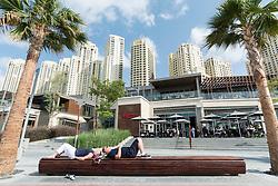 The Beach retail development in Jumeirah Beach Resort (JBR )Dubai UAE