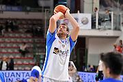 DESCRIZIONE : Beko Legabasket Serie A 2015- 2016 Dinamo Banco di Sardegna Sassari - Enel Brindisi<br /> GIOCATORE : Denis Marconato<br /> CATEGORIA : Riscaldamento Before Pregame<br /> SQUADRA : Dinamo Banco di Sardegna Sassari<br /> EVENTO : Beko Legabasket Serie A 2015-2016<br /> GARA : Dinamo Banco di Sardegna Sassari - Enel Brindisi<br /> DATA : 18/10/2015<br /> SPORT : Pallacanestro <br /> AUTORE : Agenzia Ciamillo-Castoria/C.Atzori