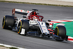 February 18, 2019 - Barcelona, Spain - RAIKKONEN Kimi (fin), Alfa Romeo Racing C38, action during Formula 1 winter tests from February 18 to 21, 2019 at Barcelona, Spain - : FIA Formula One World Championship 2019, Test in Barcelona, (Credit Image: © Hoch Zwei via ZUMA Wire)