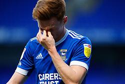 Jon Nolan of Ipswich Town goes off injured - Mandatory by-line: Phil Chaplin/JMP - 21/11/2020 - FOOTBALL - Portman Road - Ipswich, England - Ipswich Town v Shrewsbury Town - Sky Bet League One