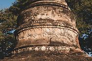 Detail of a pagoda, or stupa, in Bagan, Myanmar