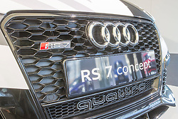 10.03.2015, Audi Forum, Ingolstadt, GER, AUDI AG Jahrespressekonferenz, im Bild Ausstellung Audi RS7 concept // during AUDI AG Annual Press Conference at the Audi Forum in Ingolstadt, Germany on 2015/03/10. EXPA Pictures © 2015, PhotoCredit: EXPA/ Eibner-Pressefoto/ Strisch<br /> <br /> *****ATTENTION - OUT of GER*****