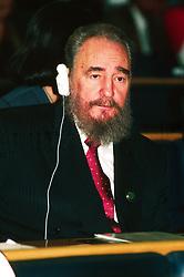 Italy, Rome - 1993.Fidel Castro  .de (Credit Image: © Pozzi/Fotogramma/Ropi via ZUMA Press)
