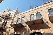 Israel, Jerusalem Mamila neighbourhood