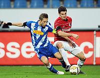 v.l. Stanislav Sestak , Daniel Caligiuri Freiburg<br /> Bundesliga VfL Bochum - SC Freiburg 1:2<br /> <br /> Norway only