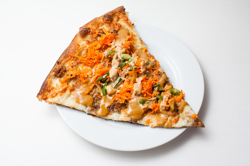 Peter Pyle Slice from Pizza Brain ($7.95) - Banh Mi Pizza