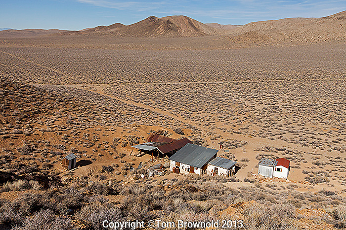 Aguereberry Mining Camp, and Harrisburg Flat in the Panamint Range.