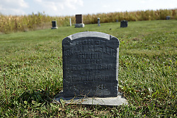 23 September 2017: Son of Grant and Nellie Gunion.  West Union Cemetery is located on the north side of Illinois Rt 9 between Danvers and Mackinaw.  It is located within McLean County