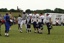 24 July 2004   Twin City Storm V Decatur Bears, Midwest Football League.  Interstate Center Field, Bloomington - Normal IL