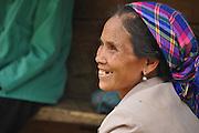 Portrait of a smiling woman, Laos