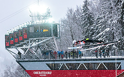 19.01.2018, Heini Klopfer Skiflugschanze, Oberstdorf, GER, FIS Skiflug Weltmeisterschaft, Einzelbewerb, im Bild Andreas Stjernen (NOR) // Andreas Stjernen of Norway during individual competition of the FIS Ski Flying World Championships at the Heini-Klopfer Skiflying Hill in Oberstdorf, Germany on 2018/01/19. EXPA Pictures © 2018, PhotoCredit: EXPA/ JFK