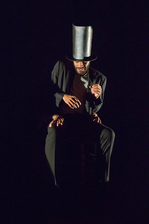 Prometheus performance of Lincoln-dance on March 23rd at Walnut Hill Theater, Natick, MA.