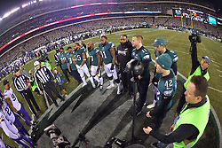 The Philadelphia Eagles beat the Minnesota Vikings 38-7 to win the NFC Championship at Lincoln Financial Field on January 21, 2018 in Philadelphia, Pennsylvania. (Photo by Drew Hallowell/Philadelphia Eagles)