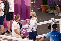 Van Olst Anne, Van Olst Gert Jan,  Team Great Britain<br /> Olympic Games Tokyo 2021<br /> © Hippo Foto - Dirk Caremans<br /> 27/07/2021