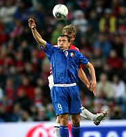 Fotball , 6. september 2006 , EM-kvalifisering , Norge - Moldova 02,<br /> Euro - q.<br /> Norway - Moldova<br /> Victor Berco  , Moldova