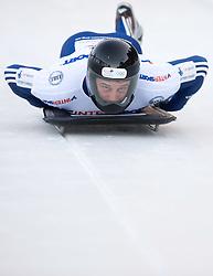 Adam Pengilly of Great Britain competes during 1st Run of FIBT Bob & Skeleton World Cup Innsbruck-Igls race on January 23, 2009 in Igls, Innsbruck, Austria. (Photo by Vid Ponikvar / Sportida)