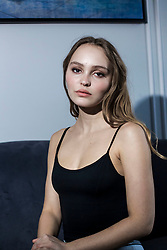 NO WEB NO APPS IN FRANCE - Lily Rose Depp poses for pictures at the Maria Cristina hotel during the 66th San Sebastian Film festival in San Sebastian, Spain on September 22, 2018. Photo by Archie Andrews/ABACAPRESS.COM