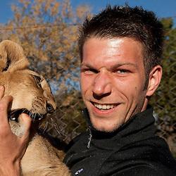 20100614: World Cup South Africa 2010, Slovenia team at Lions Park near Johannesburg