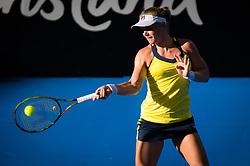 December 31, 2018 - Brisbane, AUSTRALIA - Kiki Bertens of the Netherlands in action during her first-round match at the 2019 Brisbane International WTA Premier tennis tournament (Credit Image: © AFP7 via ZUMA Wire)
