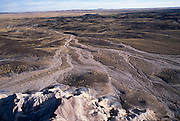 Blue Mesa area showing effects of wind & water erosion on colorful rock layers. ..Subject photograph(s) are copyright Edward McCain. All rights are reserved except those specifically granted by Edward McCain in writing prior to publication...McCain Photography.211 S 4th Avenue.Tucson, AZ 85701-2103.(520) 623-1998.mobile: (520) 990-0999.fax: (520) 623-1190.http://www.mccainphoto.com.edward@mccainphoto.com.