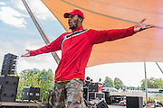 Botis Seva perform Far from the normal Hoh on the waterfront stage - The 2016 Latitude Festival, Henham Park, Suffolk.