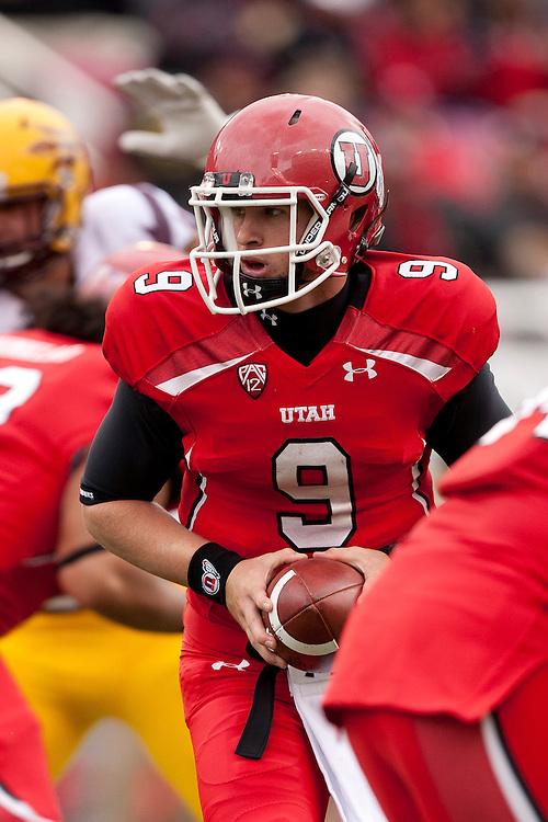 Arizona State University beats University of Utah 35 to 14.  The Game took place at Utah October 8, 2011.  ..Photo by: Nathan Sweet