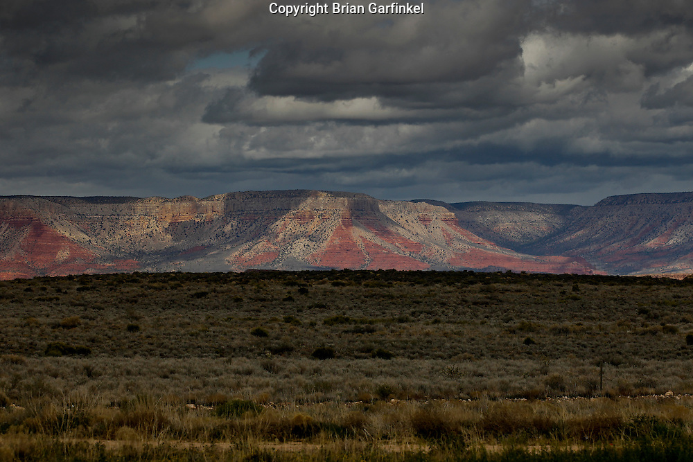 The Grand Canyon in Arizona on March 26th 2011. (Photo By Brian Garfinkel)
