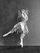 Tamara Karsavina as the Firebird in 'L'Oiseau de Feu', London, England, 1911