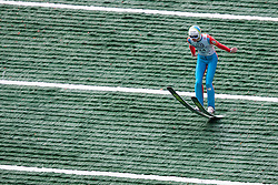 Anze Semenic during Slovenian summer national championship and opening of the reconstructed Bloudek's hill in Planica on October 14, 2012 in Planica, Ratece, Slovenia. (Photo by Grega Valancic / Sportida)