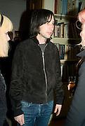 BOBBY GILLESPIE, Paul Simonon  *** Local Caption *** -DO NOT ARCHIVE-© Copyright Photograph by Dafydd Jones. 248 Clapham Rd. London SW9 0PZ. Tel 0207 820 0771. www.dafjones.com.