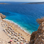 The number one beach in Turkey, Kaputas beach in turquoise coast