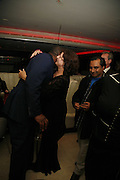 Lenny Henry,  Sanjeev Bhaskar and Meera Syal, First night party for Smaller  at Floridita, 100 Wardour Street W1 on Tuesday 4 AprilONE TIME USE ONLY - DO NOT ARCHIVE  © Copyright Photograph by Dafydd Jones 66 Stockwell Park Rd. London SW9 0DA Tel 020 7733 0108 www.dafjones.com