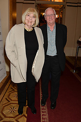 DAME DIANA RIGG and PAUL GREENHOUSE at a party to celebrate the publication of  'I Used to be in Pictures' an untold story of Hollywood by Austin Mutti-Mewse and Howard Mutti-Mewse held at The Lansdowne Club, London on 6th March 2014.