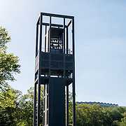 The Netherlands Carillon next to Arlington National Cemetery and the Iwo Jima Memorial. First donated in 1954, the Carillon was moved to its current location in 1960. It was a gift of the Netherlands to the United States in thanks for US aid during World War II.