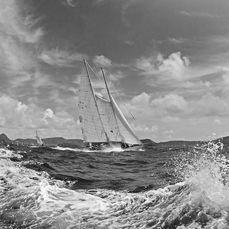 """ATREVIDA.<br /> <br /> Back in the 60s, classic yachts, which were gathered in English Harbour Antigua, had begun chartering and the captains and crews challenged each other to a race down to Guadeloupe and back to celebrate the end of the charter season. From this informal race, Antigua Race Week was formalised in 1967, and in those days all of the yachts were classics. As the years grew on, the classic yachts were slowly outnumbered but the faster sleeker modern racing yachts and 24 years later the Classic Class had diminished to a few boats and was abandoned in 1987. However this same year seven classic yachts turned out and were placed in Cruising Class 3 with the bare boats. The class was so unmatched that it was downright dangerous, so Captain Uli Pruesse hosted a meeting onboard Aschanti of Saba with several classic skippers and in 1988 the Antigua Classic Yacht Regatta was born, with seven boats.<br /> <br /> In 1991, Elizabeth Meyer brought her newly refitted Endeavour and Baron Edmond Rothschild brought his 6-meter Spirit of St Kitts and """"CSR"""" became the first Sponsor and inaugurated the Concours d'Elégance. In 1996 we created the """"Spirit of Tradition Class"""", which has now been accepted all over the world, which gives the """"new"""" classics, built along the lines of the old, a chance to sail alongside their sister ships. In 1999 we celebrated the first race between the J class yachts in 60 years. Mount Gay Rum has sponsored the Regatta for many years, and we have recently added Officine Panerai as our first ever Platinum Sponsor.<br /> <br /> The Antigua Classic Yacht Regatta has maintained a steady growth, hosting between 50 and 60 yachts every year and enjoys a wonderful variety of competitors, including traditional craft from the islands, classic ketches, sloops, schooners and yawls making the bulk of the fleet, together with the stunningly beautiful Spirit of Tradition yachts, J Class yachts and Tall Ships."""