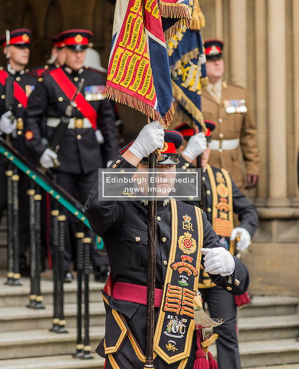 The National Commemoration of the Centenary of the Battle of the Somme.<br /> Manchester Town Hall<br /> Friday 1st July 2016<br /> <br /> (c) John Baguley   Edinburgh Elite media
