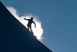 29.12.2017, Stelvio, Bormio, ITA, FIS Weltcup, Ski Alpin, alpine Kombination, Abfahrt, Herren, im Bild Adrien Theaux (FRA) // Adrien Theaux of France in action during the downhill competition for the men's Alpine combination of FIS Ski Alpine World Cup at the Stelvio course, Bormio, Italy on 2017/12/29. EXPA Pictures © 2017, PhotoCredit: EXPA/ Johann Groder