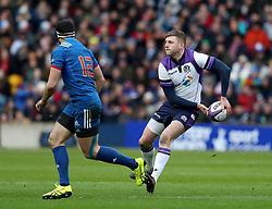 Scotland's Finn Russell (right) during the NatWest 6 Nations match at BT Murrayfield, Edinburgh.
