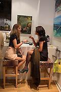 SARAH EDWARDS; VALENTINA MARTINONIENE, Lady  Sandra Bates and Jason Bradbury host 'Lust' a mixed exhibition. La Galleria. Pall Mall.  London 3 September 2013.